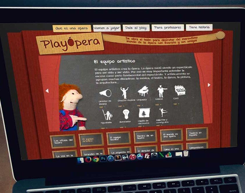 Playopera – Desarrollo web y multimedia