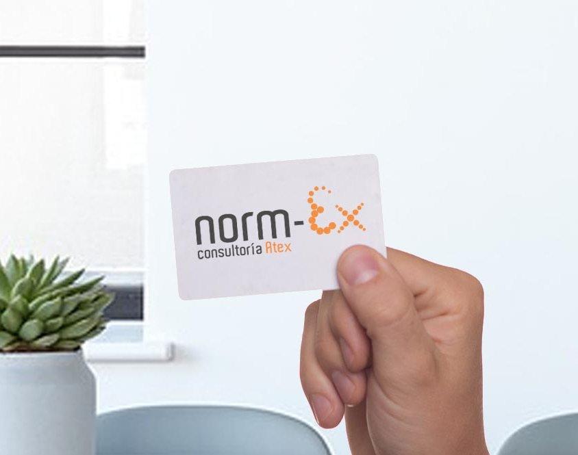 Diseño de logotipo Norm-ex