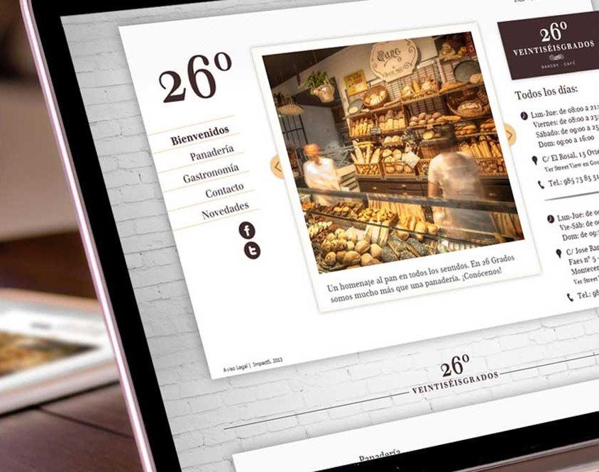 Desarrollo web 26 grados