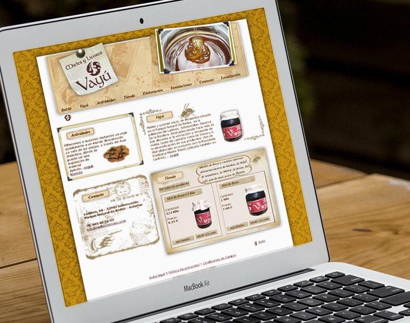Tienda online Miel y licores Vayú