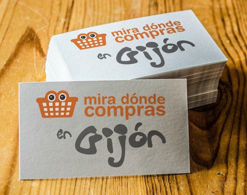 Diseño de logotipo Miradondecompras.com
