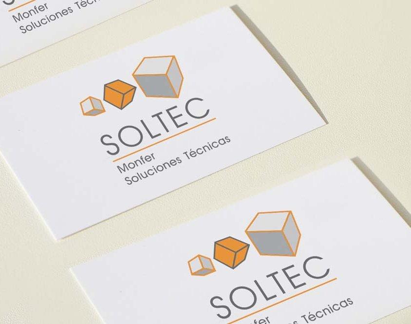 Diseño de logotipo Soltec Ingeniería