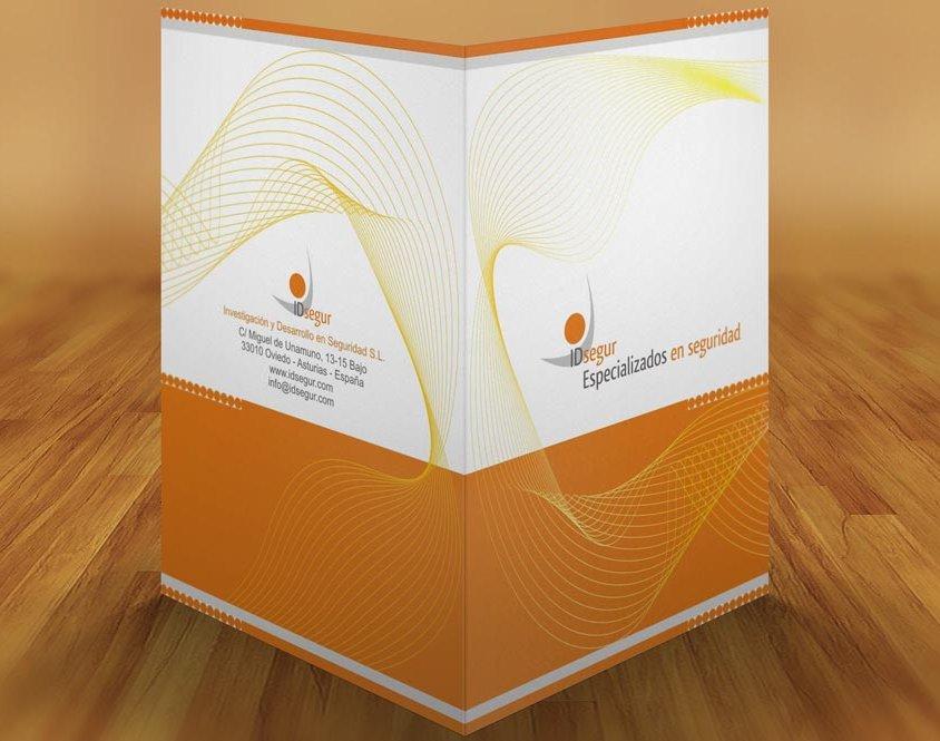 Diseño papelería IDsegur