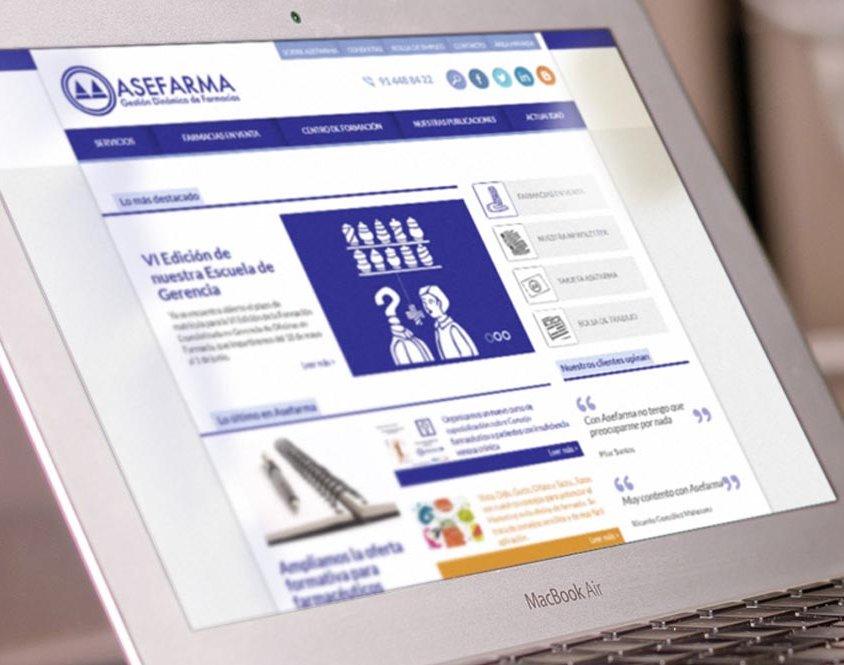 Desarrollo web portal corporativo