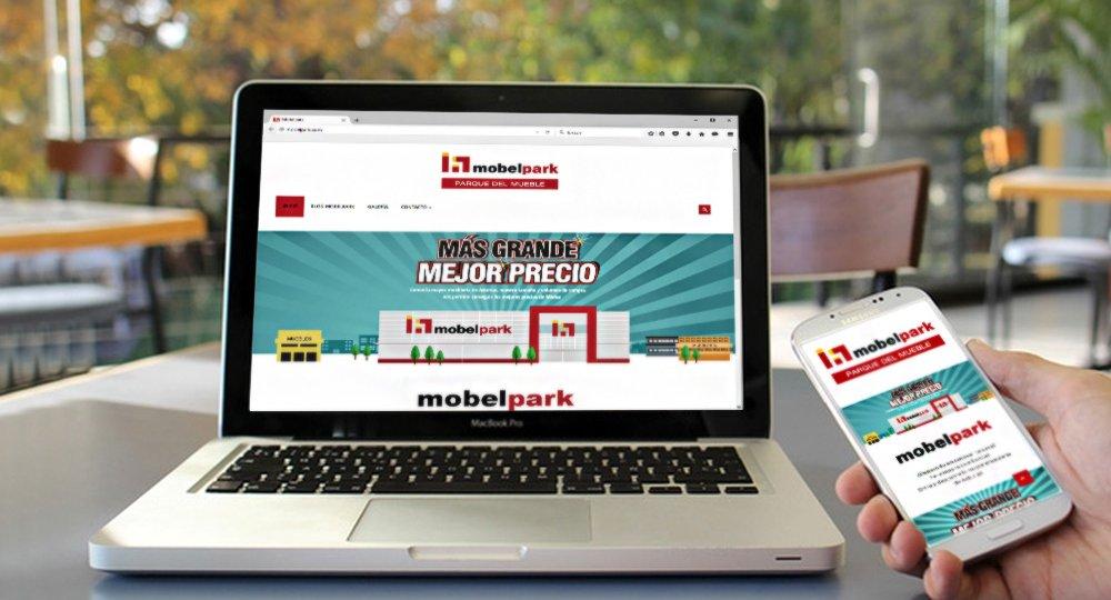 Página web responsive Mobelpark
