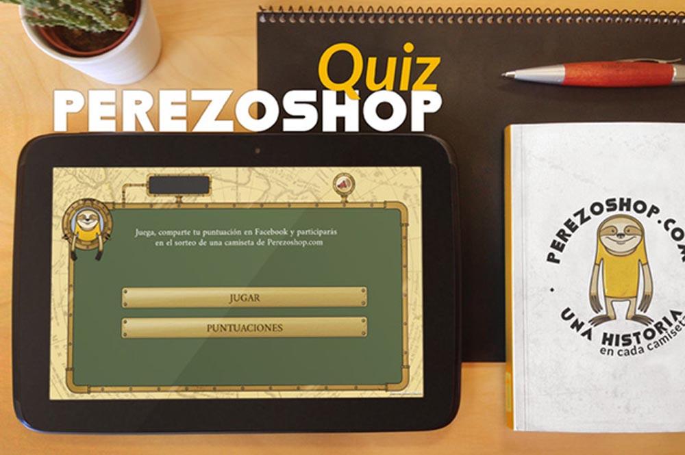 App realizada con Unity para Perezoshop.com