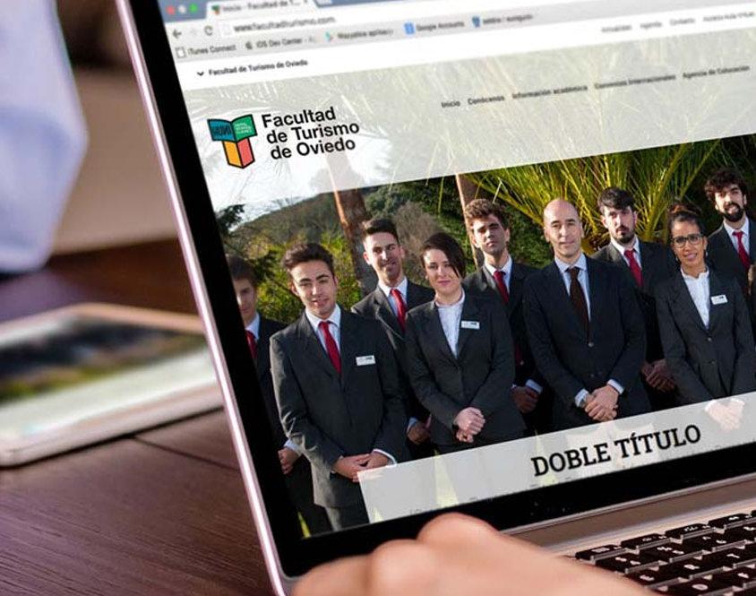 Diseño y desarollo web para la Facultad de Turismo