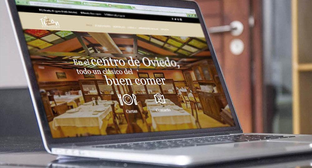 Web restaurante el Tizón