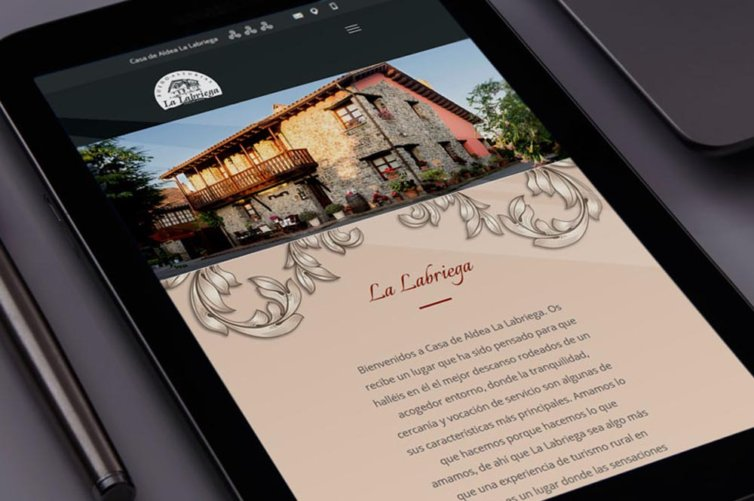 Web casa de aldea La Labriega