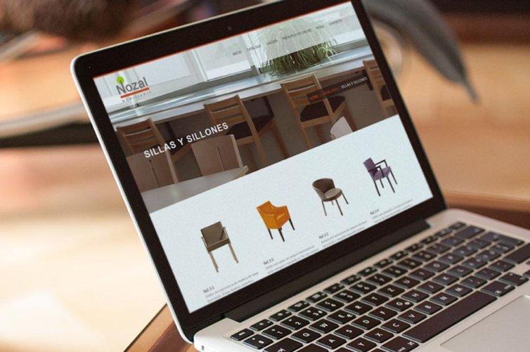 Web Nozal, Mobiliario para hostelería