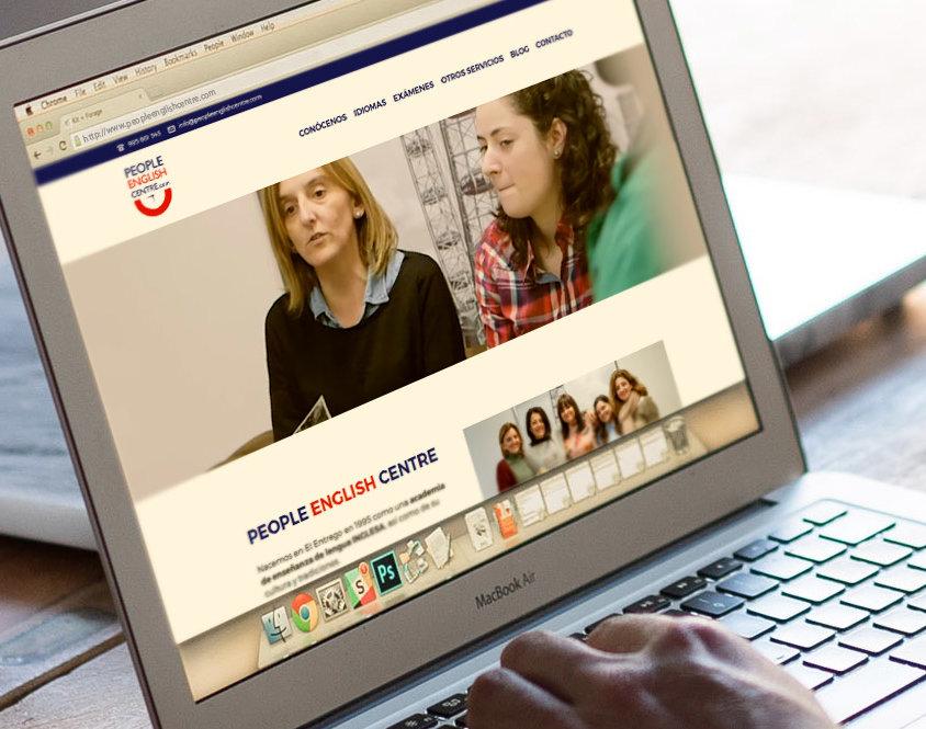 Página web People English Centre