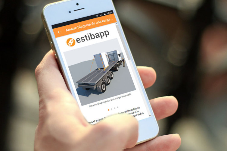 Estibapp, la app para la estiba en carretera