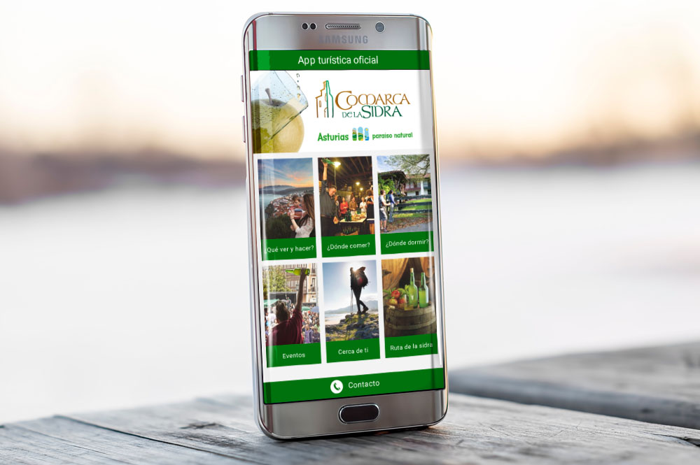 App turística para la Comarca de la sidra
