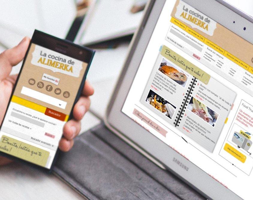 Desarrollo web La cocina de Alimerka
