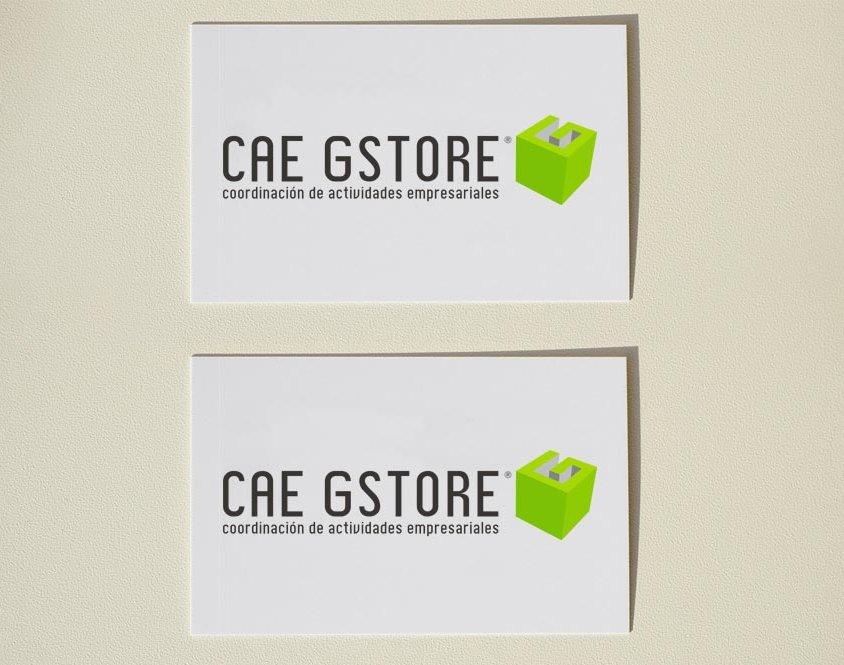 Diseño de logotipo CAE GStore