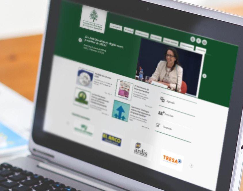 Web para asociación AEFAS
