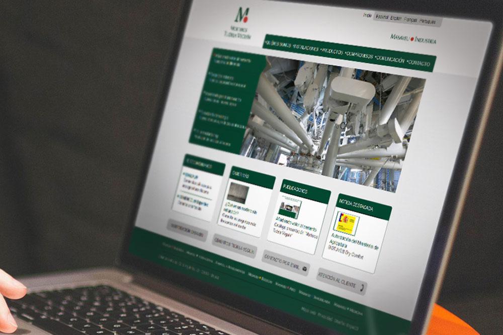 Web corporativa para empresa de materiales de construcci n - Empresas de materiales de construccion ...
