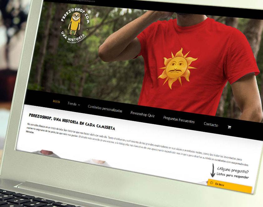 Tienda online de camisetas perezoshop.com