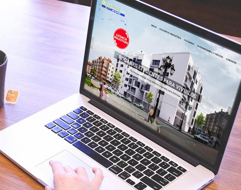 Single-page application para promoción de viviendas