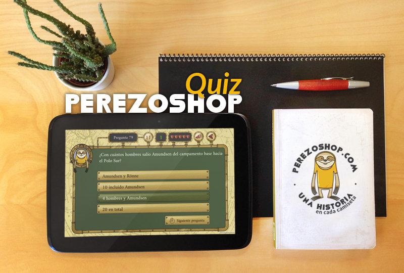Juego Perezoshop Quiz, app para móviles y tablets