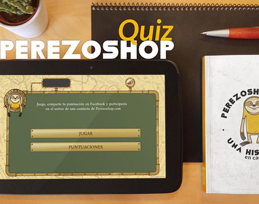 Quiz Perezoshop