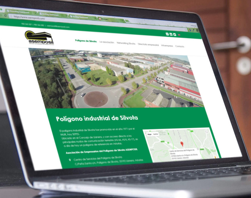 Rediseño página web Asemposil