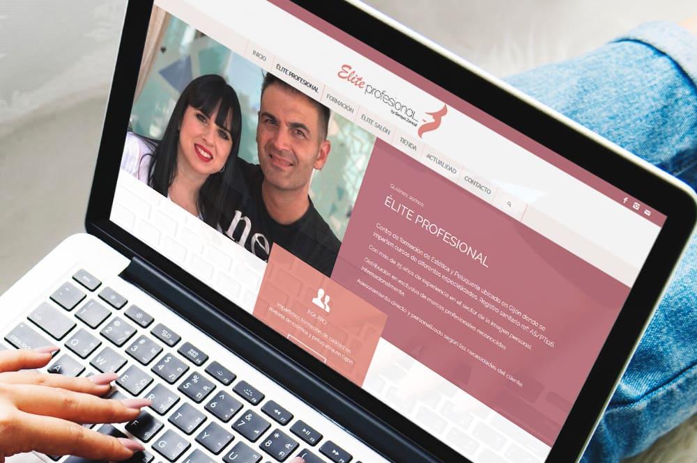 Élite Profesional, neuva web y rediseño de logotipo
